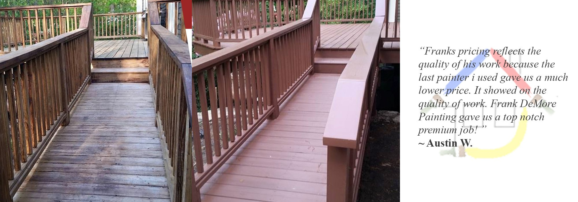 Deck Painting Hudson ma