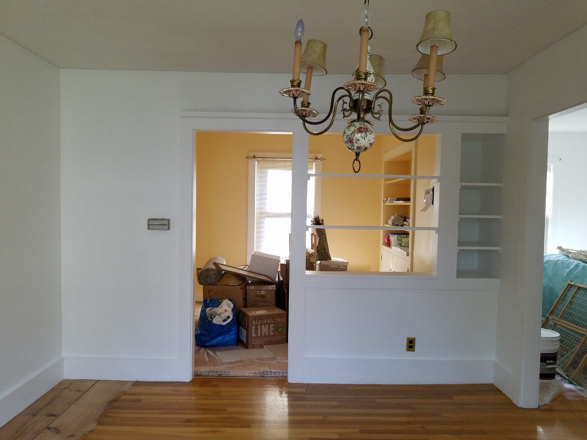 Interior Painting Project in Concord, Ma