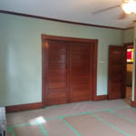 Interior Painting, Drywall and New Ceiling Fans in Worcester Ma
