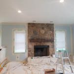 Kitchen Cabinet Painting & Living Room Painting in Stow MA